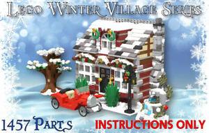 Lego Winter Village Grandmas Cottage -INSTRUCTIONS ONLY- Christmas MOC