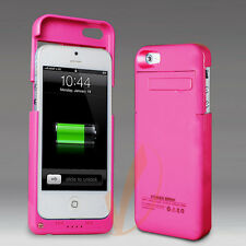 2200mAh External Battery Backup Power Bank Charger Case Cover For iPhone 5s 5