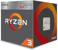 AMD Ryzen 3 2200G Quad Core APU - AMD Radeon Graphics - Great Gaming CPU - DPD