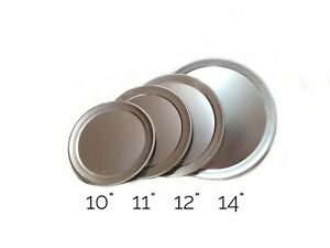 """11"""" 12"""" 14"""" & 16"""" Aluminum Pizza Pan Lids/Covers - EASY STACK, ideal for Commer"""