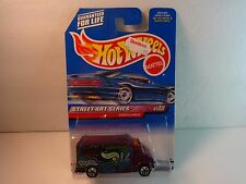 "Hot Wheels Purple Ambulance ""Street Art Series"" w/ 5 Spoke Wheel PKG# 951 MIP"