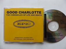 CD Album Promo GOOD CHARLOTTE The chronicles of life and death SAMPCD 14442 2