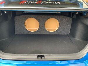 "Zenclosures 2-12"" Subwoofer Box For 2018-2021 Toyota CAMRY Speaker Enclosure"