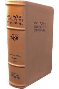 Die Neue Induktive Studienbibel Schlachter 2000 mit Schreibrand Blitzversand