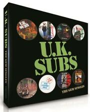UK SUBS THE GEM SINGLES BOX 7 INCH VINYL SINGLE NEW BOX SET RSD 2016