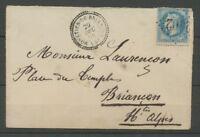 1868 Env. GC2402 +CAD Monetier-De-Briancon T22 HAUTES-ALPES(4). Sup X2198
