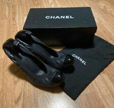 Chanel CC Cap Toe PUMPS/Court / Heels Shoes. Size EU39/ Uk 6.Authentic.Used ONCE