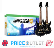 /Guitar Hero Live Xbox one - 2 x Guitar Controllers, Straps & Dongles NEW y464