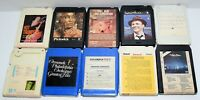 Lot of 10 Various Vintage 8-Track Tapes Some Rare As Shown In Pictures - Lot # 6