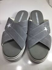 Converse All Star Grey Sandals Size 7.  Eur 41