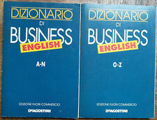 Dizionario di Businnes English A,Z -AA.VV.- Corsi di lingue De Agostini,1994 - R