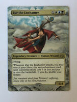 Zur The Enchanter ALTERED ART MTG EDH Hand Painted Commander