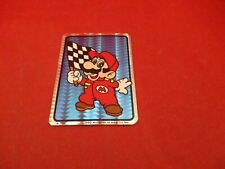 Racing Flag Super Mario Bros. 1990 Nintendo NES Vending Machine Sticker *NEW*