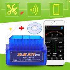 Mini ELM327 V2.1 OBD2 OBDII Bluetooth Adattatore Scanner Auto TORQUE ANDROID TOP