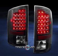 2007-2008 DODGE RAM 1500/2500/3500 TRUCK LED ALTEZZA TAIL BRAKE LIGHTS BLACK NEW