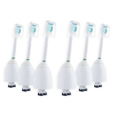 6 Pack E-series Replacement Brush Head Compatible for Philips Sonic  HX7002
