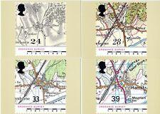 GB PHQ CARDS MINT NO. 138 1991 ORDNANCE SURVEY MAPS 10% OFF 5+