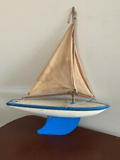 Vintage Toy Wood Sailboat Southern Cross Australia