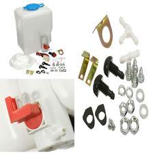 1.8L Classic Car Windshield Washer Reservoir Pump Bottle Kit Jet Botton Switch