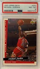 1993 Michael Jordan Upper Deck #237 PSA 8 NM-MT GOAT HOF