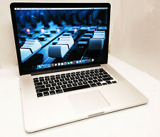 BIG SAVINGS HERE! Macbook Pro A1398 Retina 15in 2.3ghz i7 QC 8gb 256gb SSD