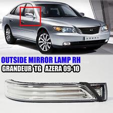 876143L710 Outside Mirror Lamp Right RH For GRANDEUR TG AZERA 2009-2010