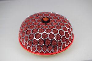 Red HKS mushroom intake power filter - 86mm fitting