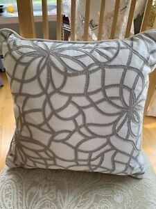"Martha Stewart SHIMMER 16x16"" Square Decorative Pillow"