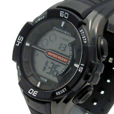 CANNIBAL Men's Digital Watch 1/100 SEC CHRONO LIGHT WATER resistere cd239-03