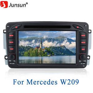 For Mercedes Benz Car Radio Bluetooth DVD CD FM For Benz C Klasse CLK W203 W209