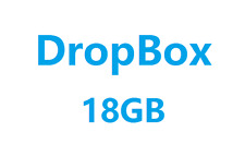 [Hundreds Sold] Dropbox Permanent 18 GB Lifetime Space