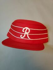 1983 Pillbox | Rochester Red Wings | Baseball Hat by Supercap | Vintage Triple A
