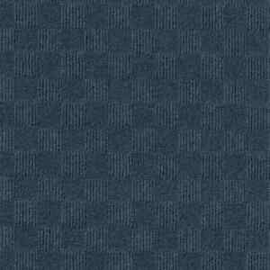 Carpet Tile Fade/Stain/Wear Resistant Polyester Blue (Covers 60 sq. ft./ Case)