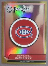 2008-09 O-Pee-Chee Team Checklist #CL16 Montreal Canadiens