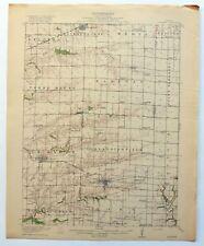 La Harpe Illinois Antique 1918 USGS Topo Map Stronghurst 15-minute Topographic