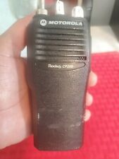 Motorola Radius Cp200 - Two Way Radio With Antenna & Battery (Untested) as is