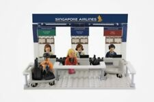 Singapore Airlines Check-in Counter Set