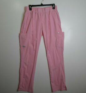 Grey's anatomy Pink Signature Scrub Pants Women's Size Medium