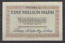 Bramfeld - Gemeinde - 1 Million Mark