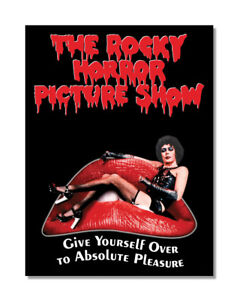 The Rocky Horror Picture Show METAL SIGN WALL PLAQUE Film Movie Poster - M0049
