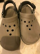 PREOWNED  CROCS BEIGE , USED , Size M8 W 10!!!  VIBA