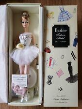 Prima Ballerina Silkstone Barbie Fashion  Model Collection Doll BFMC Gold NRFB