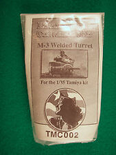 Little Fokkers 1/35 Resin & Photo-etch Conversion Kit M-3 Welded Turret Kit