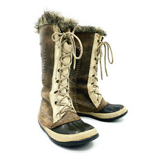 Sorel Cate the Great Tusk Taupe Winter Snow Boot Womens Size 6