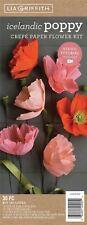 Crepe Paper Flower Kit -poppies -lg40005