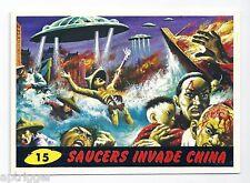 1994 Topps MARS ATTACKS Base Card # 15 Saucers Invade China