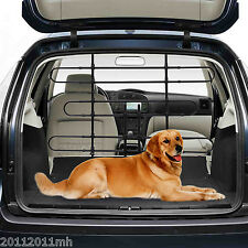 Pawhut Deluxe Vehicle Auto Car Pet Dog Barrier Fence Cage Safety Gate