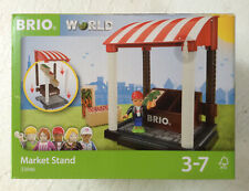 Brio World 33946 MARKET STAND Brand New In Package Ages 3-7 11 pcs