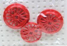 Lego ® ferrocarril 2 x 3 roja radios ruedas para Lok 85489 Train Wheel OVP New
