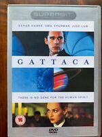 Gattaca DVD 1997 Cult Dystopian Fantascienza Film Thriller Dts Superbit Rilascio